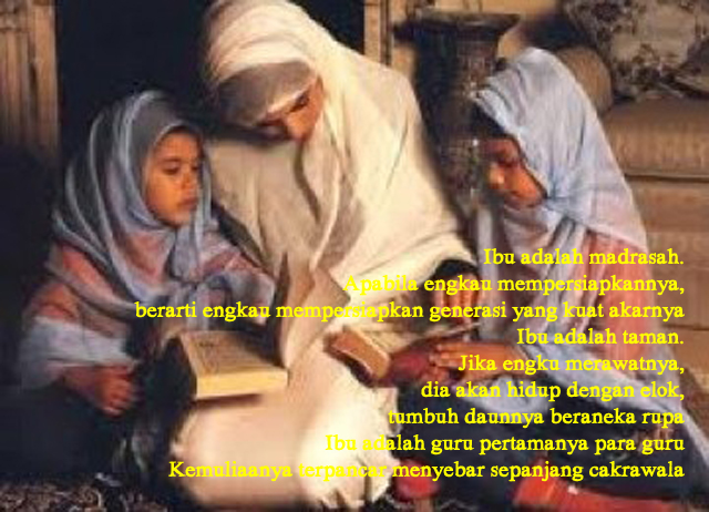 pendidikan ibu